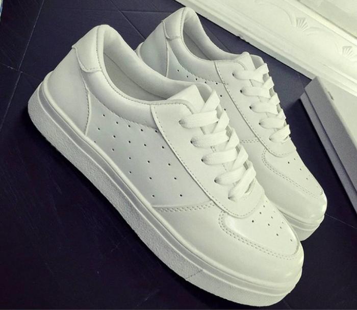 jual Sepatu Wanita Kets Putih Casual SDS135