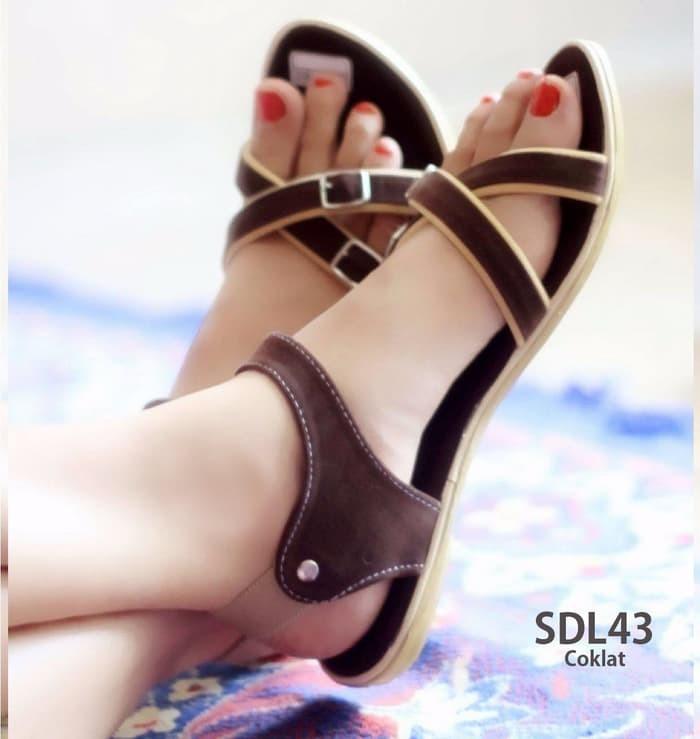 jual Sandal Wanita Tali / Sendal Sepatu Wanita SDL43