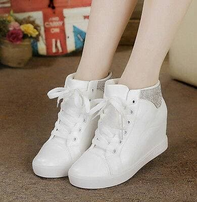 jual Sepatu Boots Wanita Model Korea SBO106