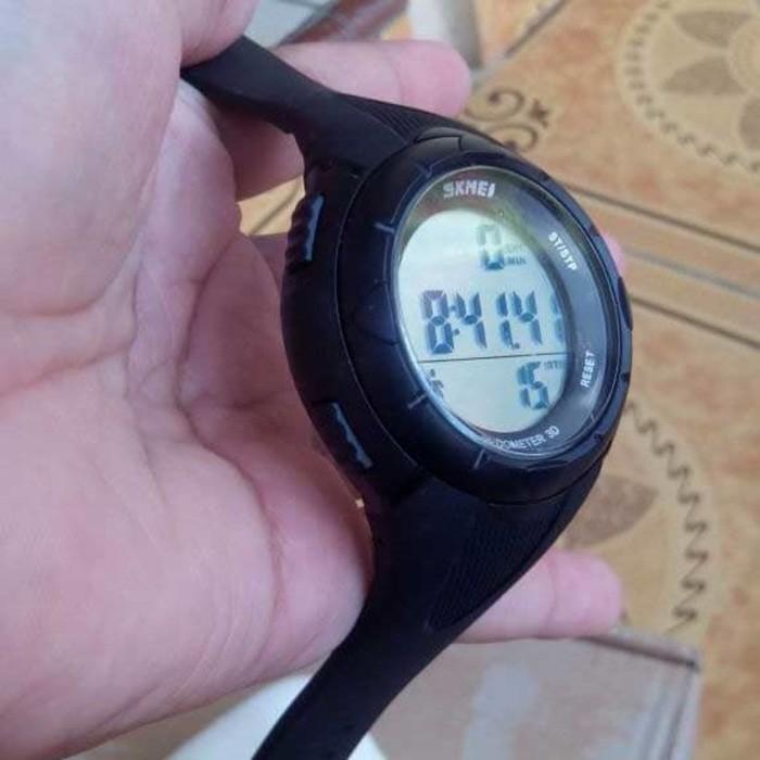 jual SKMEI Pedometer 1108 Original Water Resist 50M - Black