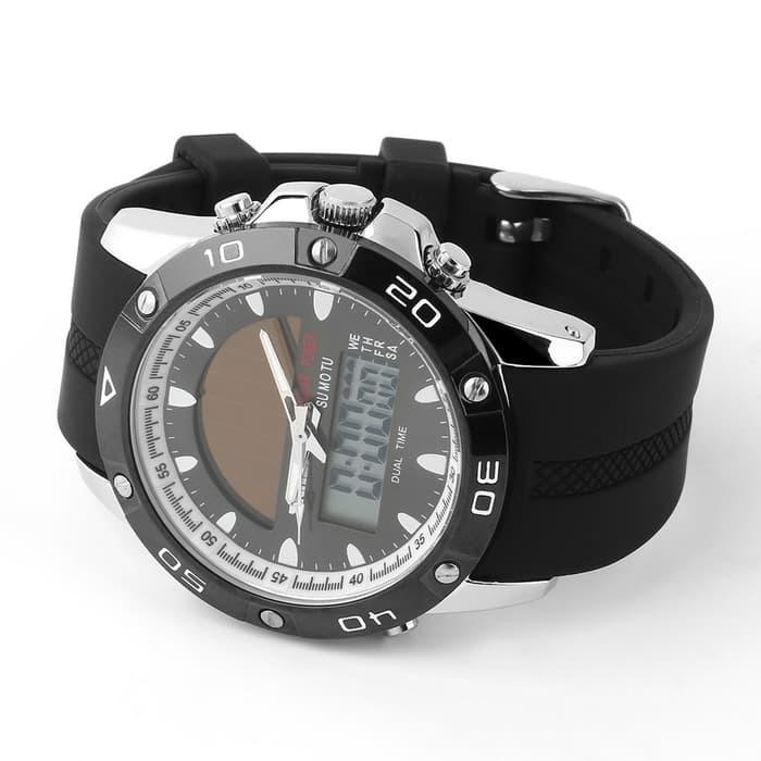 jual SKMEI Solar Power Watch 1064 Original Water Resistant 50M - Silver
