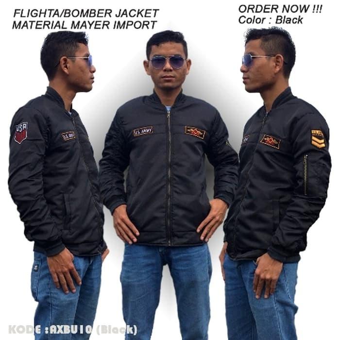 jual JAKET BOMBER US ARMY, JAKET TACTICAL AURI/PILOT, JAKET BOMBER KEKINIAN