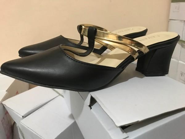 jual Sepatu High Heels Wanita Hak Tahu SDH33