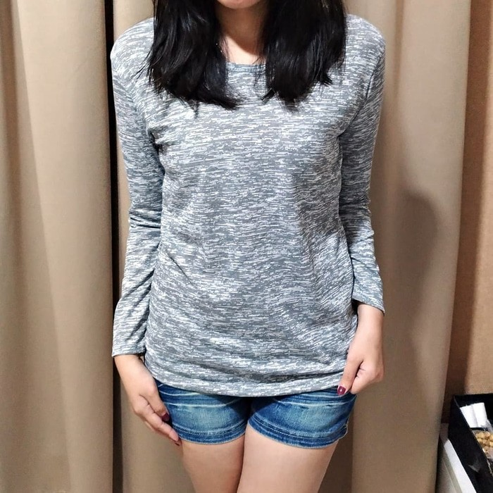 jual Mozaic Long Sleeve Tee / Kaos / Pakaian / Blouse / T-shirt Wanita