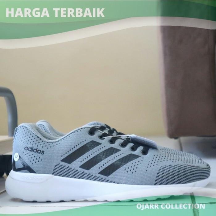 jual Sepatu Casual Adidas Neo Cloud Foam Speed Racer Pria Laki Cowo Murah