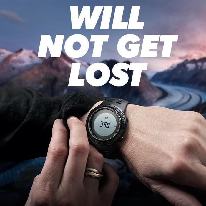 jual SKMEI Compass 1254 Original - Jam Tangan Pria Sport Outdoor Anti Air