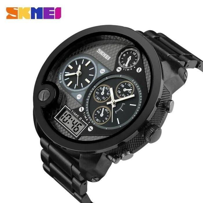 jual SKMEI Watch 1170 Original Water Resistant 30M - Black