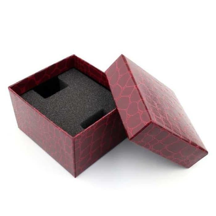 jual Box / Kotak Jam Tangan Universal Motif Kulit