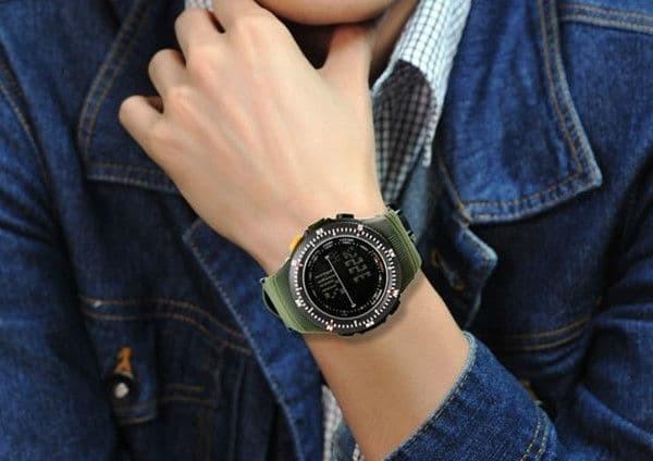 jual SKMEI Sport Watch 0989 Original Water Resistant 50M - Green