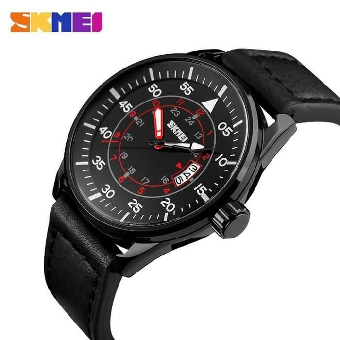 jual SKMEI Watch 9113 Original Water Resistant 50M - Black