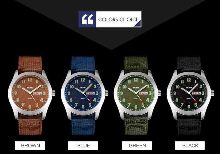 jual SKMEI Watch 9112 Original Water Resistant 50M - Blue