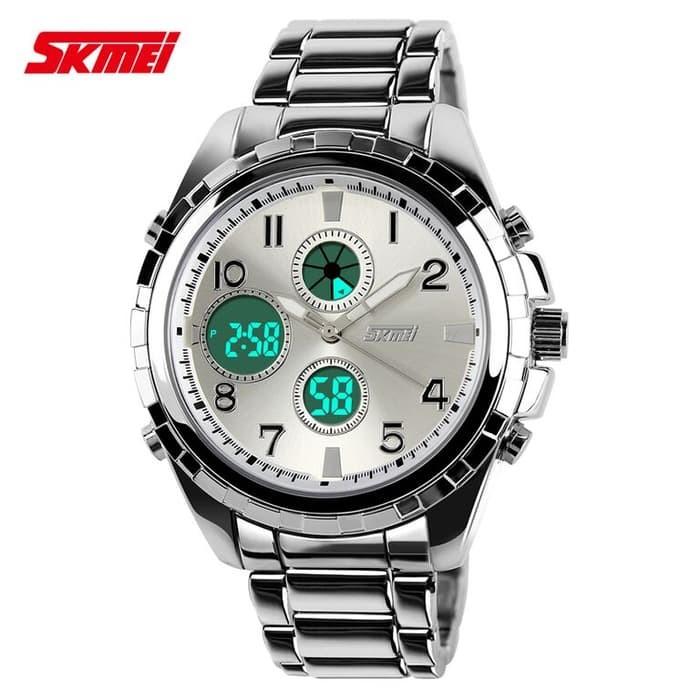 jual SKMEI Fashion Watch 1021 Original Water Resistant 50M - Silver