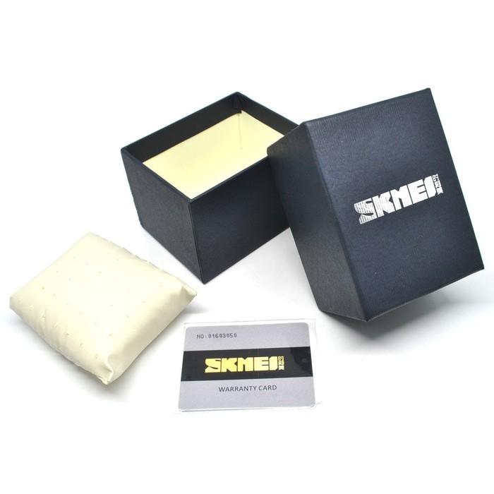 jual Box / Kotak Jam Tangan SKMEI Karton + Kartu Garansi