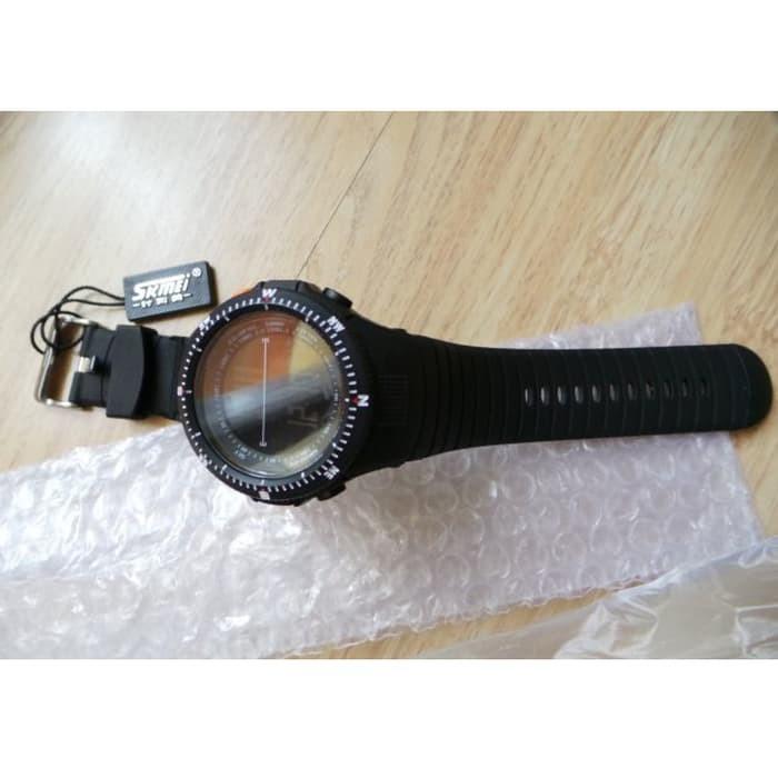 jual SKMEI Sport Watch 0989 Original Water Resistant 50M - Black