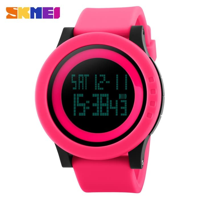 jual SKMEI Sport Watch 1142 Original Water Resistant 50M - Pink