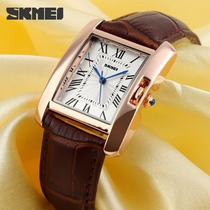 jual SKMEI Woman Fashion Watch 1085 Original Water Resistant 30M - Brown