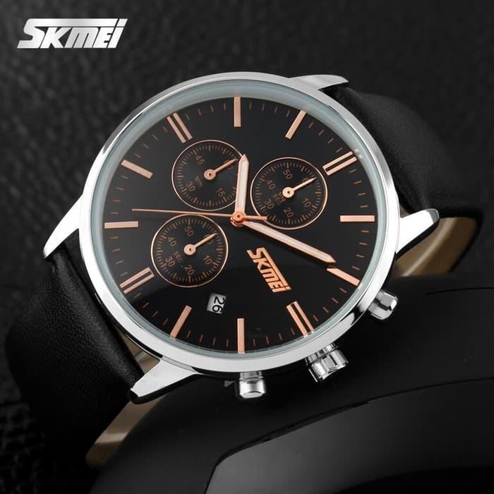 jual SKMEI Fashion Watch 9103 Original Water Resistant 30M - Black