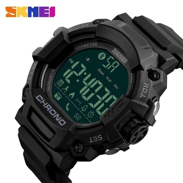 jual Smart Watch SKMEI 1249 Bluetooth Pedometer Smartwatch - 50M Waterproof