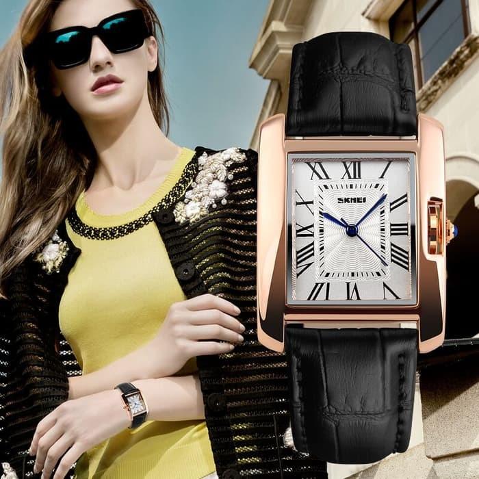 jual SKMEI Woman Fashion Watch 1085 Original Water Resistant 30M - Black