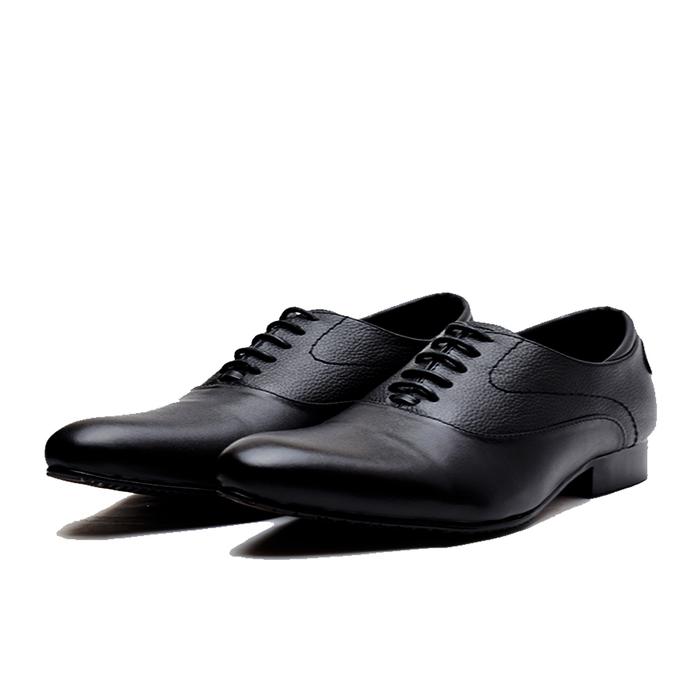jual Sepatu Pantofel Pria PREMIUM - formal untuk kerja dan pesta Wetan NS-4 - Hitam, 38
