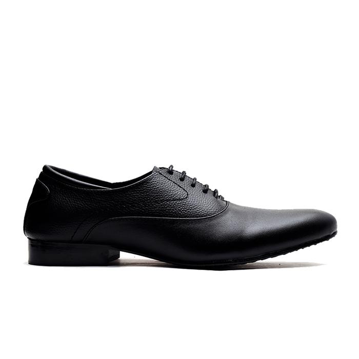 jual Sepatu Pantofel Pria PREMIUM - formal untuk kerja dan pesta Wetan NS-4 - Hitam, 43