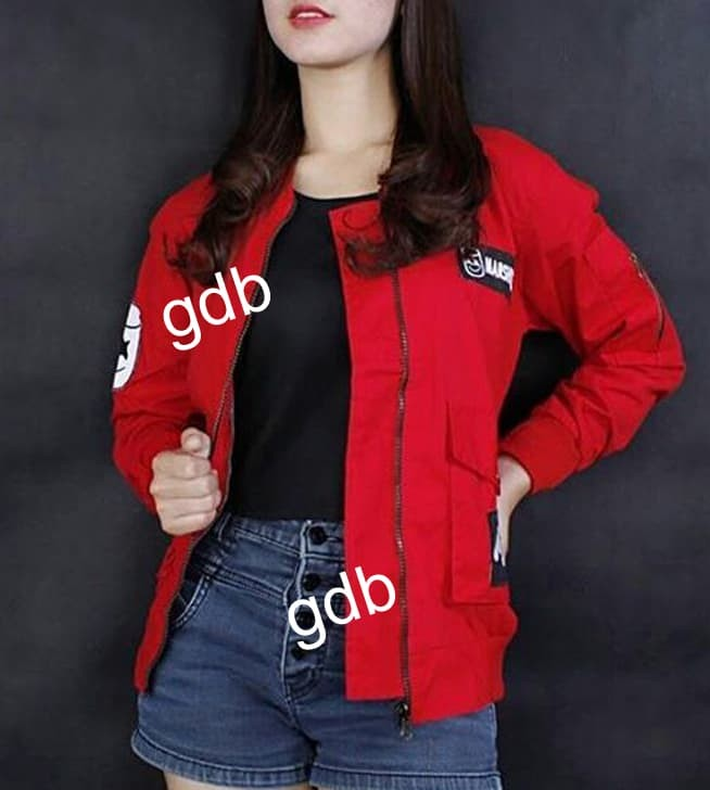 jual Jaket Bomber Wanita GoldMerchant Premium !!!