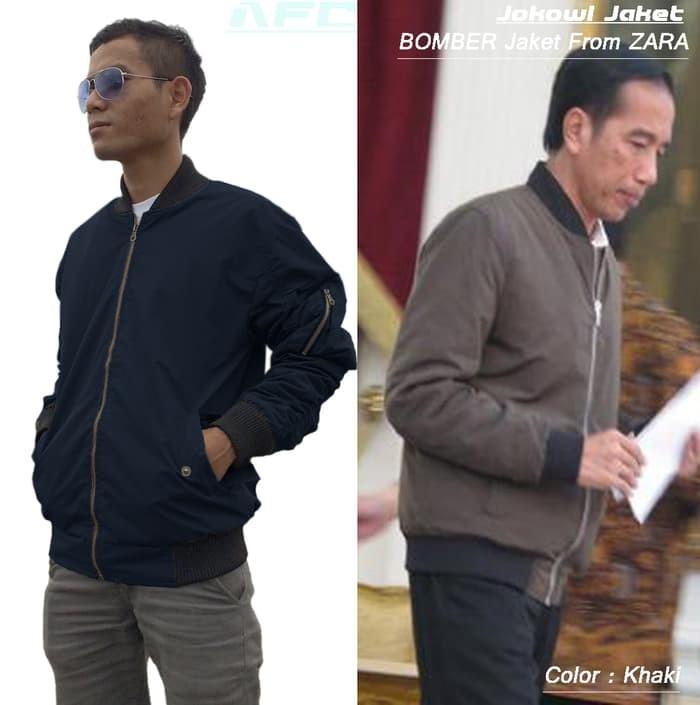 jual Jaket Jokowi/ Jaket BOMBER From ZARA/ Jaket AURI