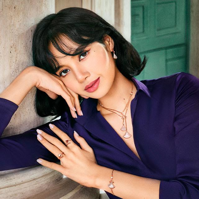 Model wearing Divas' Dream Jewellery