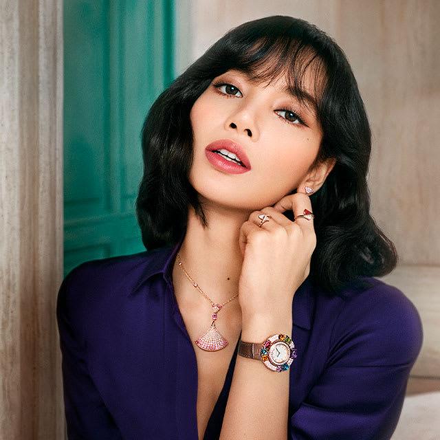 Model wearing Divas Dream jewels.