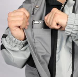Suit pocket callout