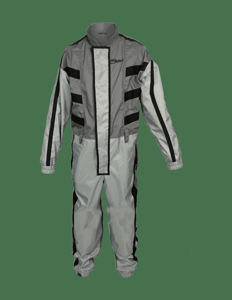 Grey Abrasive Blasting Suit