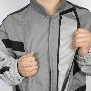Suit open flap callout