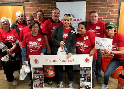 American Red Cross Sound The Alarm Event