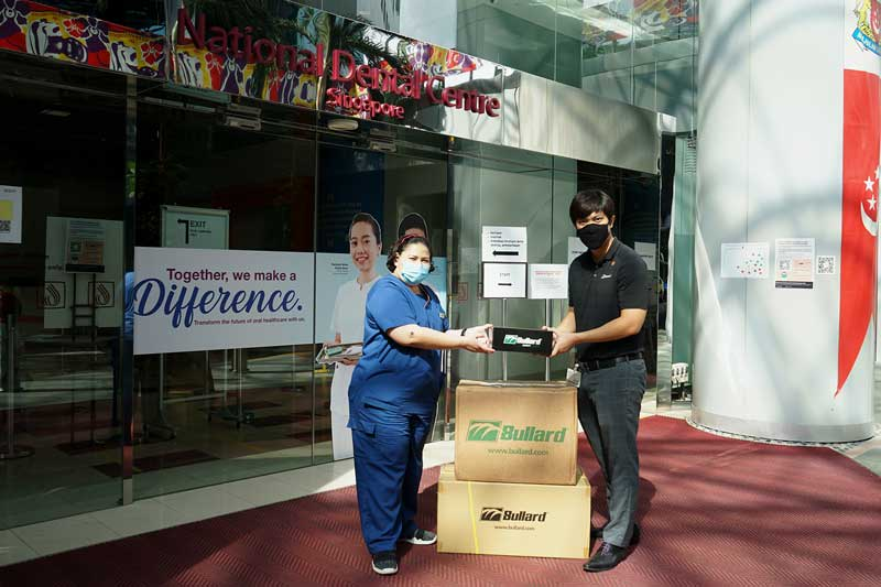 Bullard donates Safety eyewear to National Dental Centre Singapore (NDCS)