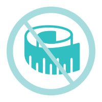 No Fit Test Icon