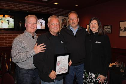 Bullard Hosts Dinner Celebrating Two Regional Sales Managers