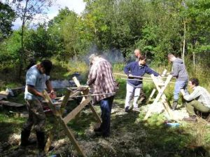 bow making course in the woods in devon (south west)