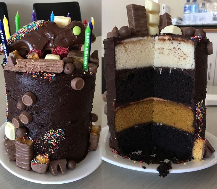 Quick Birthday Cake