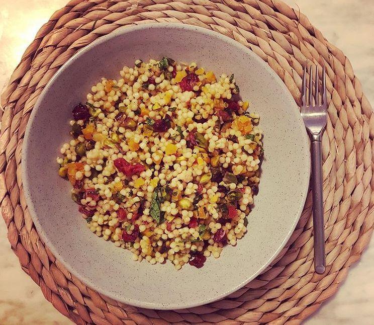 Israeli Couscous Salad Bunch