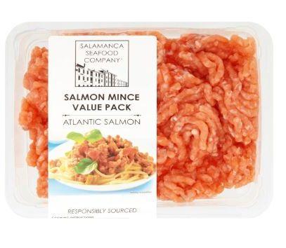 Salmon Mince Tacos Bunch