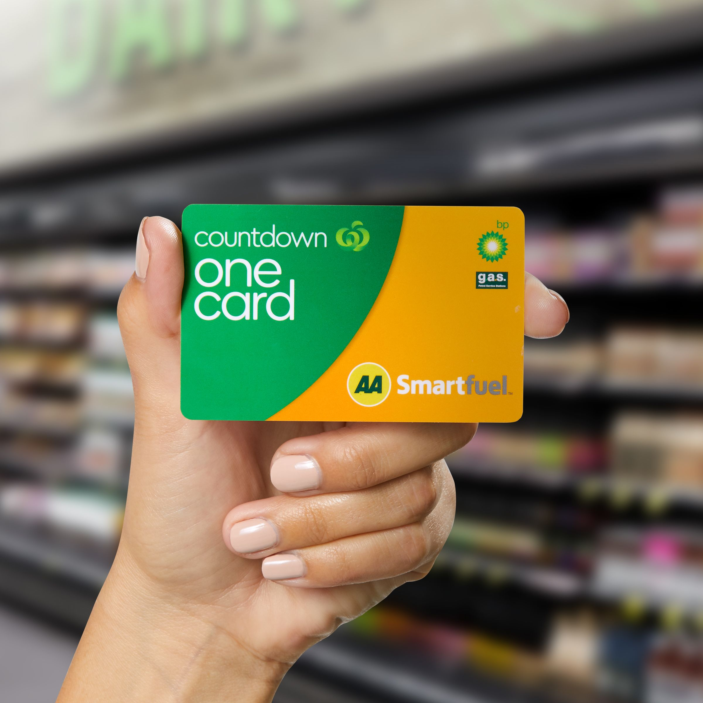 Pick it up in store and scan your Woolworths Rewards card at checkout