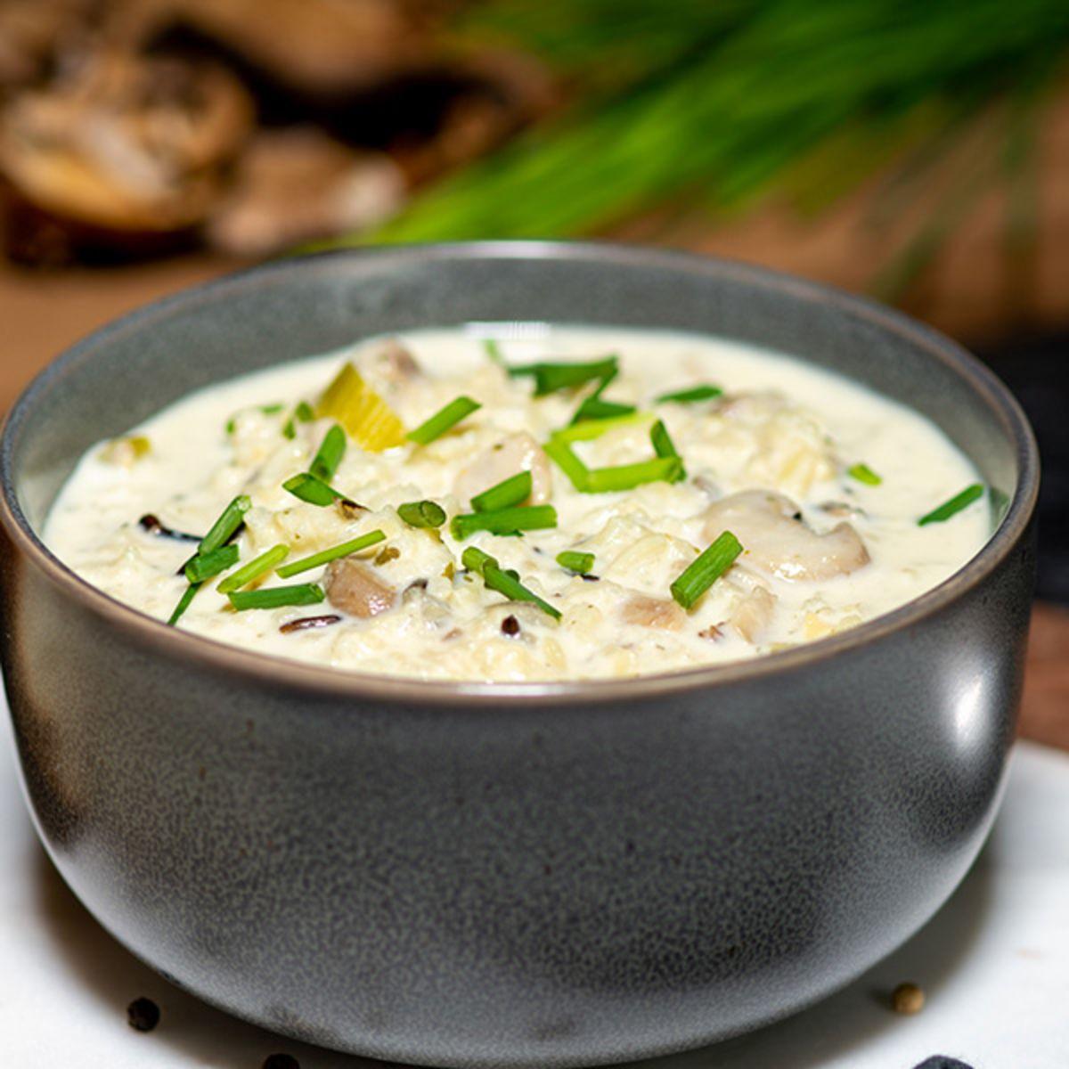 BUNN Gourmet Minnesota Wild Rice & Mushroom Soup