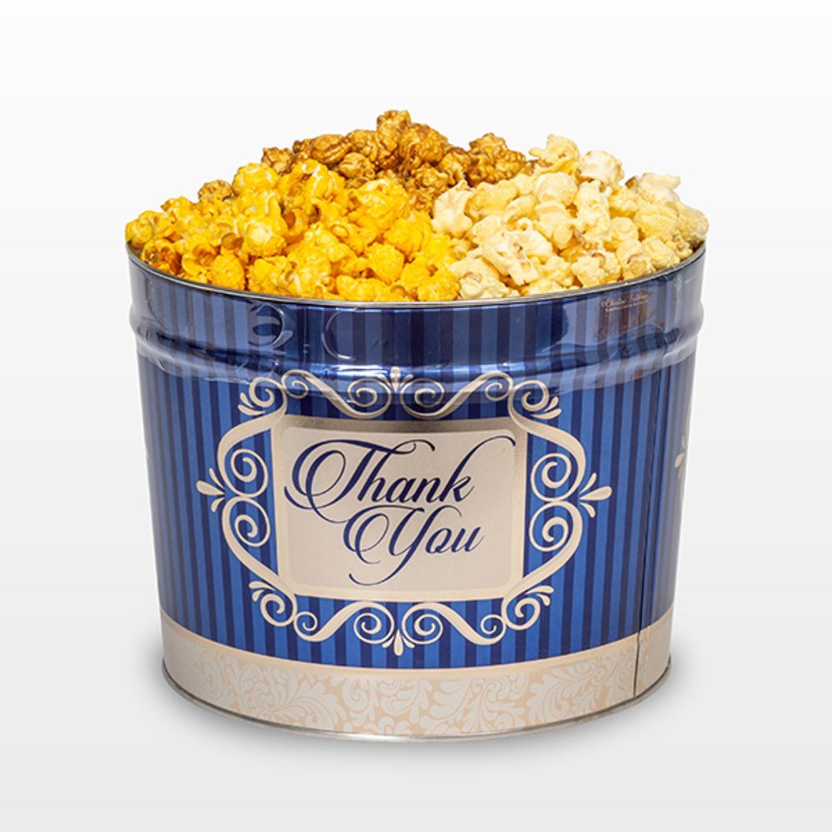 Pease's Triple Mix Popcorn, 2 Gallon Tin