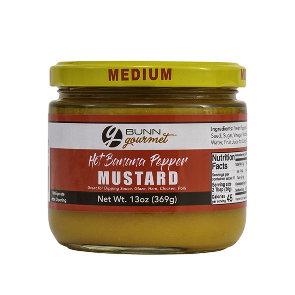 BUNN Gourmet Hot Banana Pepper Mustard