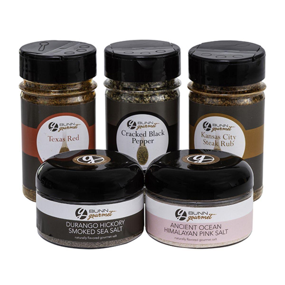 BUNN Gourmet Sizzle & Savor Spices Collection