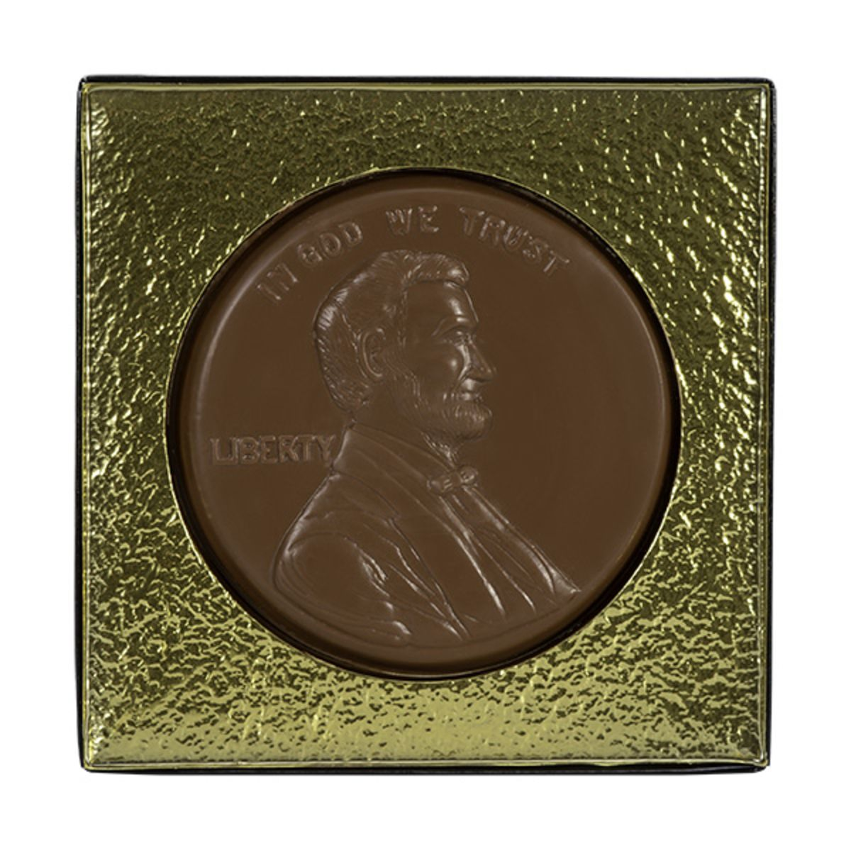 Giant-sized Milk Chocolate Lincoln Penny