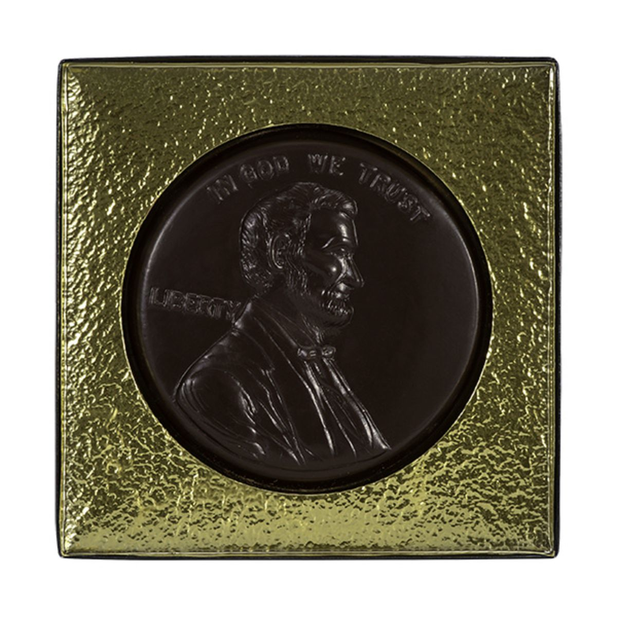 Giant-sized Dark Chocolate Lincoln Penny