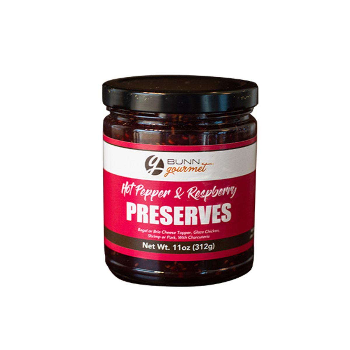 BUNN Gourmet Hot Pepper & Raspberry Preserves