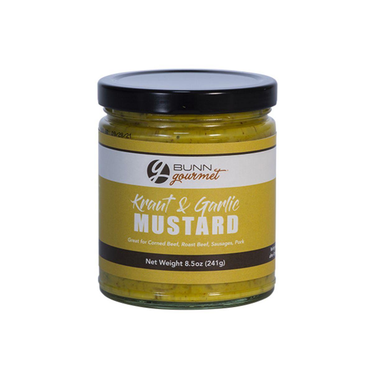 BUNN Gourmet Garlic Kraut Mustard