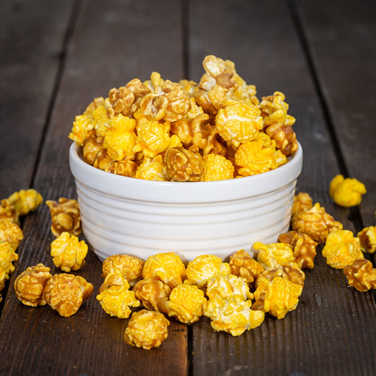 Pease's Cheese and Caramel Popcorn Mix